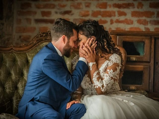 Il matrimonio di Emanuele e Emanuela a Angera, Varese 79