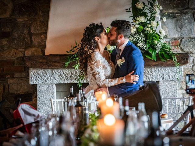 Il matrimonio di Emanuele e Emanuela a Angera, Varese 85