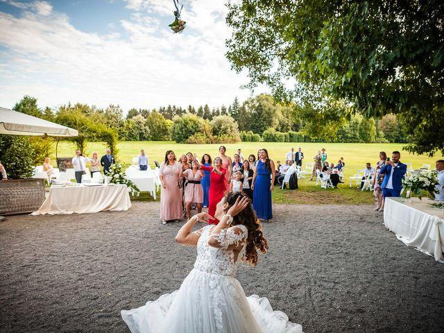 Il matrimonio di Emanuele e Emanuela a Angera, Varese 86
