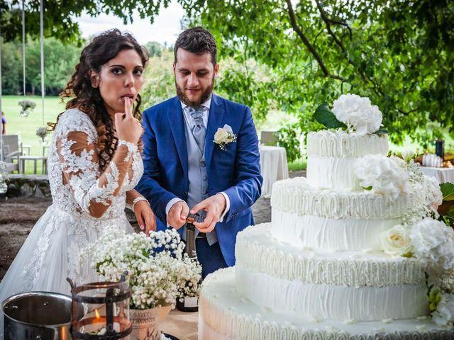Il matrimonio di Emanuele e Emanuela a Angera, Varese 91