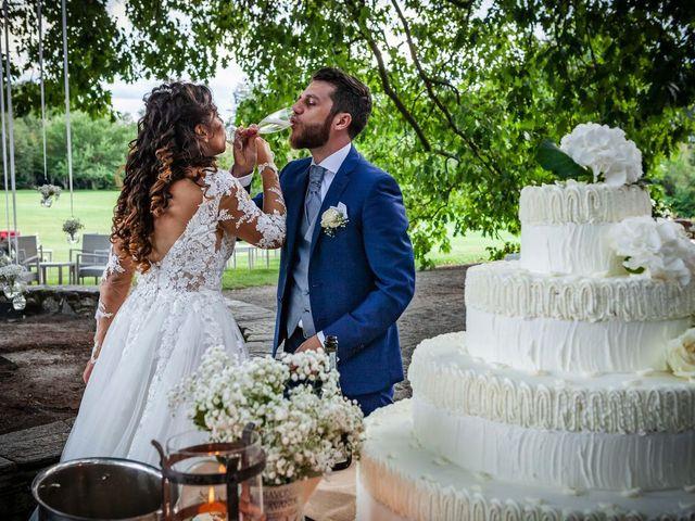 Il matrimonio di Emanuele e Emanuela a Angera, Varese 92
