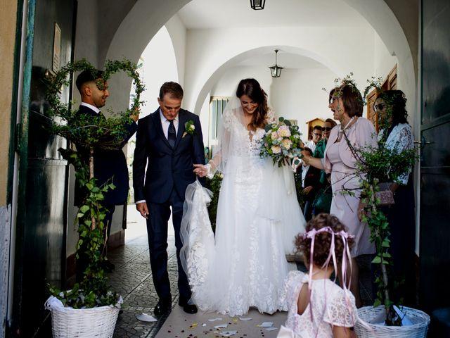 Il matrimonio di Miriam e Vittorio a Cava de' Tirreni, Salerno 26