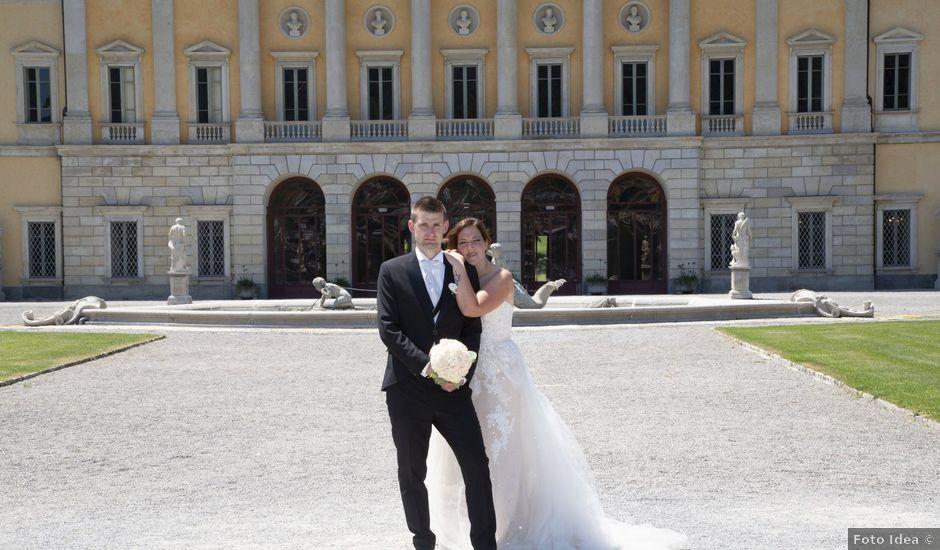 Il matrimonio di Andrea e Eleonora a San Fedele Intelvi, Como