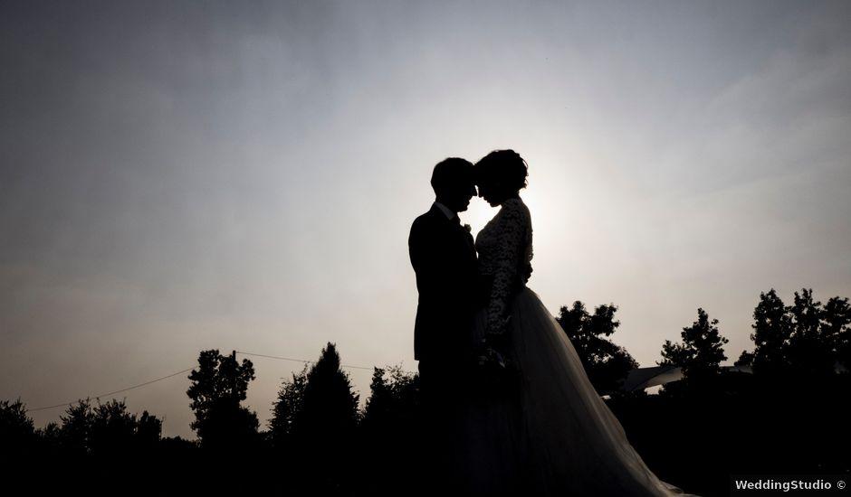 Il matrimonio di Alessandro e Chiara a Vaprio d'Agogna, Novara