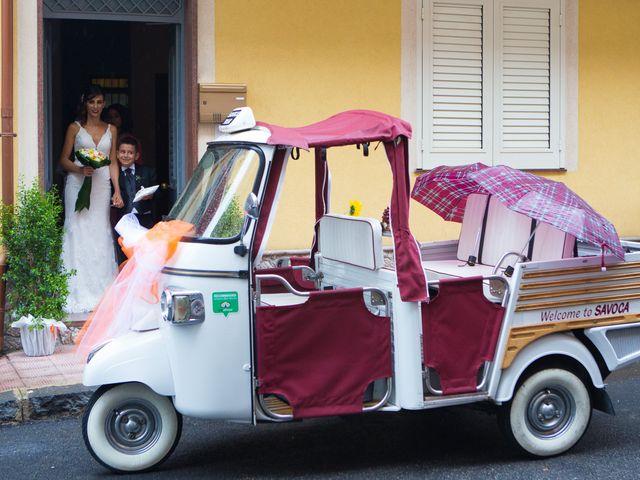 Il matrimonio di Natali e Andreas a Savoca, Messina 16