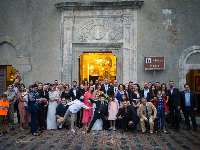 Il matrimonio di Natali e Andreas a Savoca, Messina 32