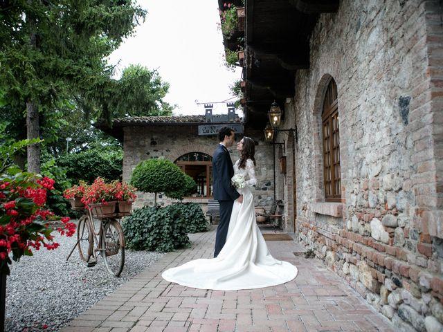 Il matrimonio di Luca e Alice a Gazzola, Piacenza 29