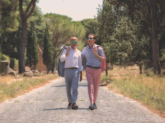 le nozze di Mario e Viorel Alin