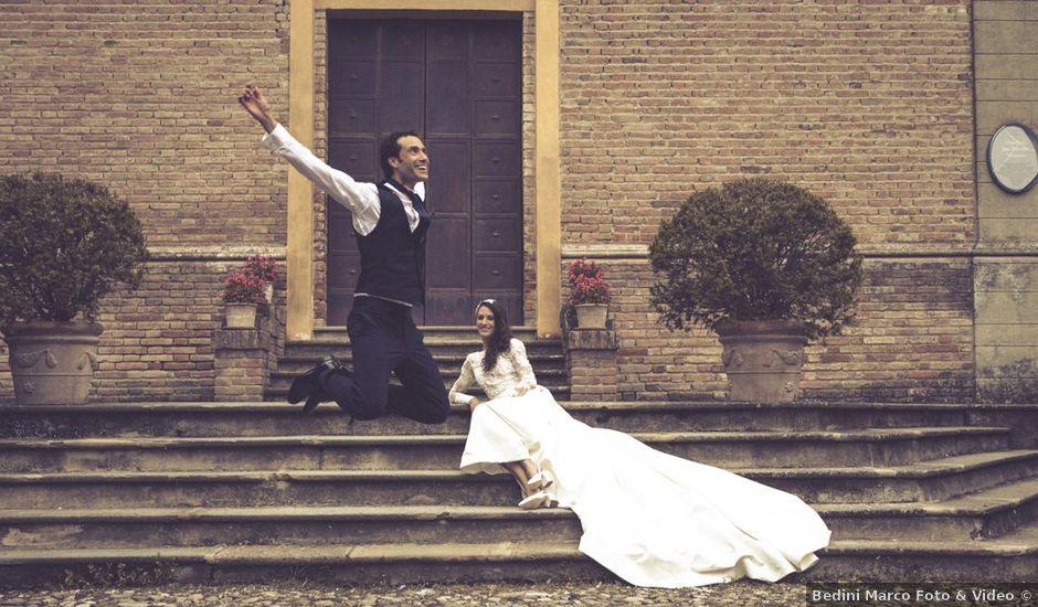 Il matrimonio di Luca e Alice a Gazzola, Piacenza