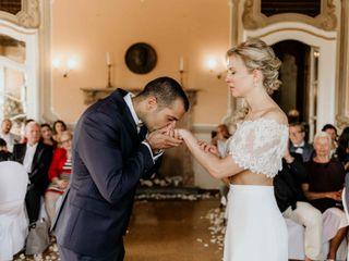 Le nozze di Verena e Davis