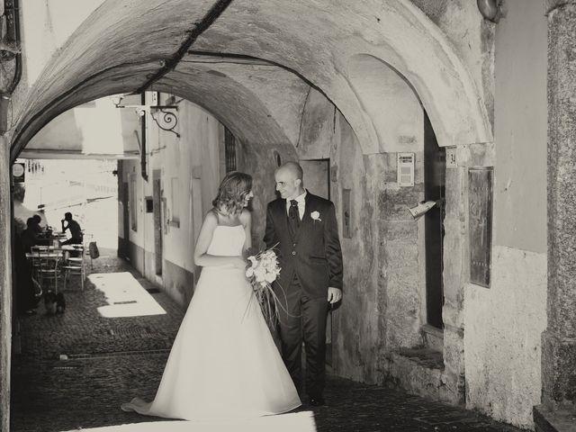 Il matrimonio di Riccardo e Roberta a Schignano, Como 7