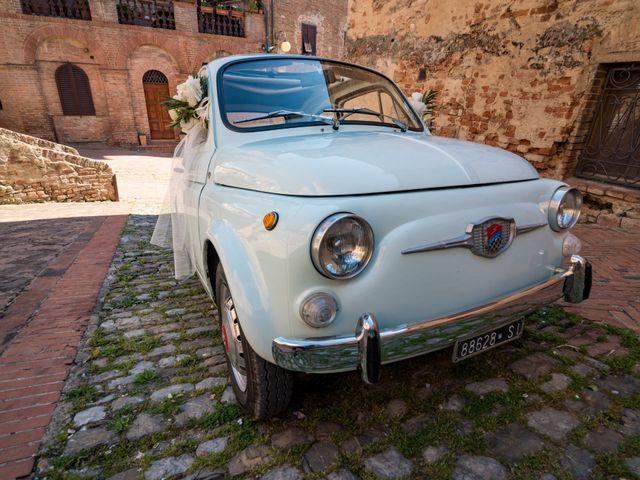 Il matrimonio di Christophe e Marie a Certaldo, Firenze 41