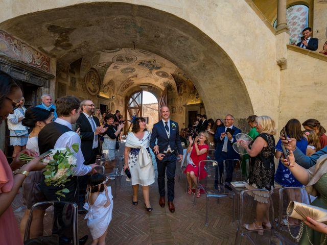 Il matrimonio di Christophe e Marie a Certaldo, Firenze 43