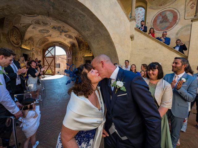 Il matrimonio di Christophe e Marie a Certaldo, Firenze 44