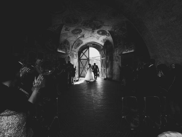 Il matrimonio di Christophe e Marie a Certaldo, Firenze 47