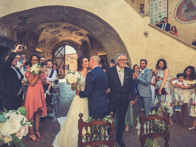 Il matrimonio di Christophe e Marie a Certaldo, Firenze 49