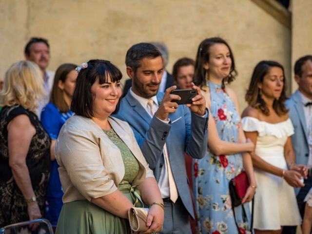Il matrimonio di Christophe e Marie a Certaldo, Firenze 50