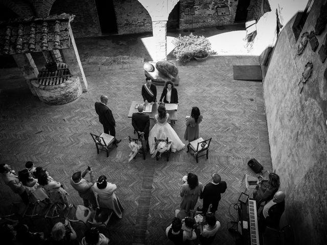 Il matrimonio di Christophe e Marie a Certaldo, Firenze 51