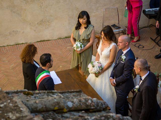 Il matrimonio di Christophe e Marie a Certaldo, Firenze 52