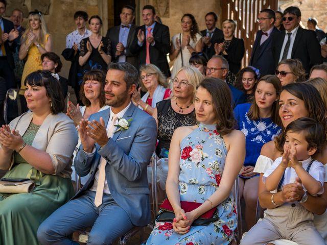 Il matrimonio di Christophe e Marie a Certaldo, Firenze 55