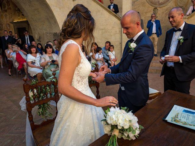 Il matrimonio di Christophe e Marie a Certaldo, Firenze 56