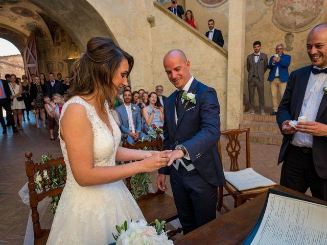 Il matrimonio di Christophe e Marie a Certaldo, Firenze 57