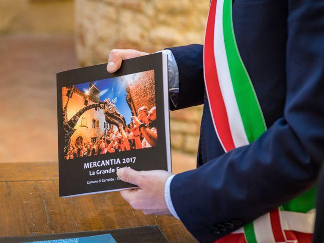 Il matrimonio di Christophe e Marie a Certaldo, Firenze 60