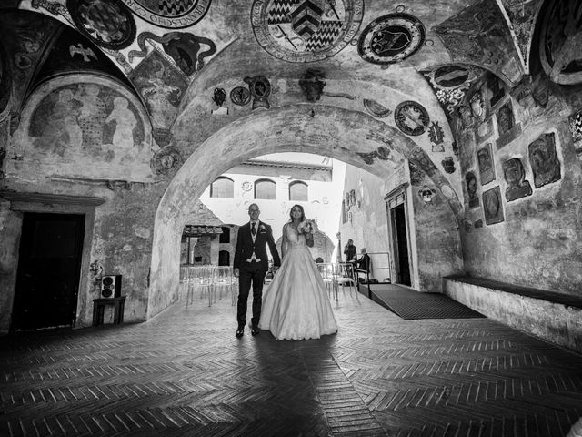 Il matrimonio di Christophe e Marie a Certaldo, Firenze 61