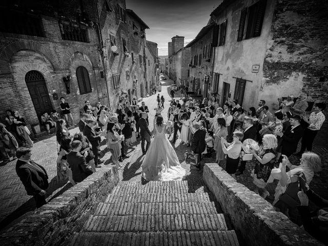 Il matrimonio di Christophe e Marie a Certaldo, Firenze 64