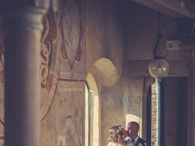Il matrimonio di Christophe e Marie a Certaldo, Firenze 67