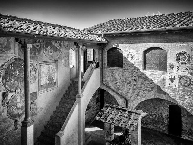 Il matrimonio di Christophe e Marie a Certaldo, Firenze 68