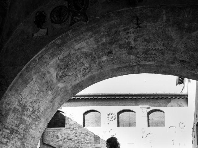 Il matrimonio di Christophe e Marie a Certaldo, Firenze 69