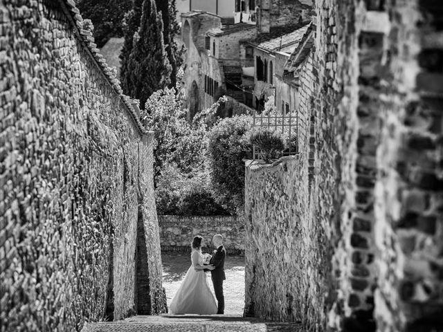 Il matrimonio di Christophe e Marie a Certaldo, Firenze 73
