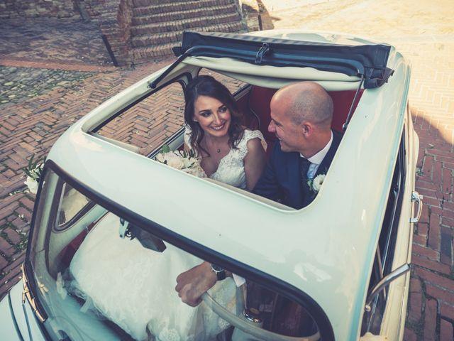 Il matrimonio di Christophe e Marie a Certaldo, Firenze 74