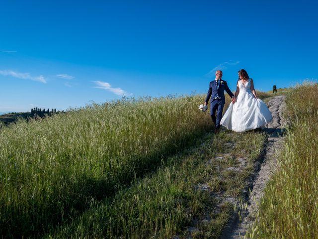 Il matrimonio di Christophe e Marie a Certaldo, Firenze 78