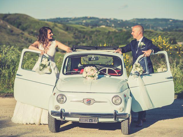 Il matrimonio di Christophe e Marie a Certaldo, Firenze 80