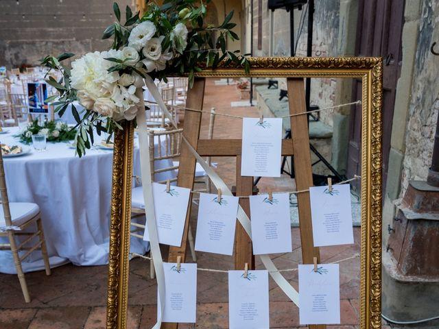 Il matrimonio di Christophe e Marie a Certaldo, Firenze 81