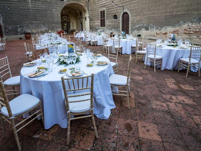 Il matrimonio di Christophe e Marie a Certaldo, Firenze 86