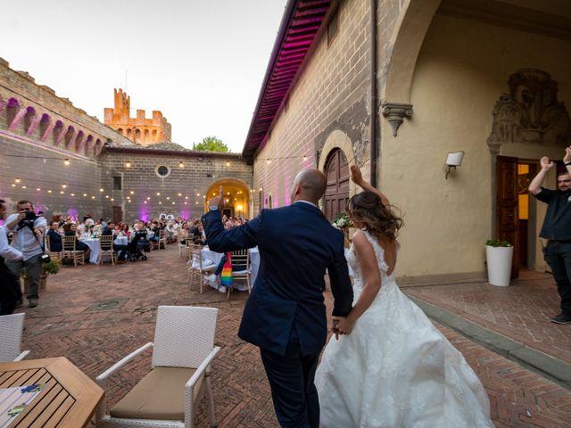 Il matrimonio di Christophe e Marie a Certaldo, Firenze 97