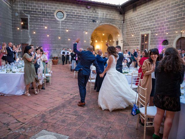 Il matrimonio di Christophe e Marie a Certaldo, Firenze 98