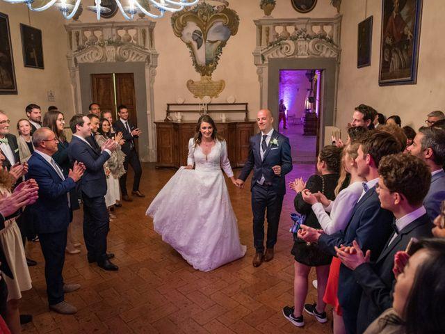 Il matrimonio di Christophe e Marie a Certaldo, Firenze 113