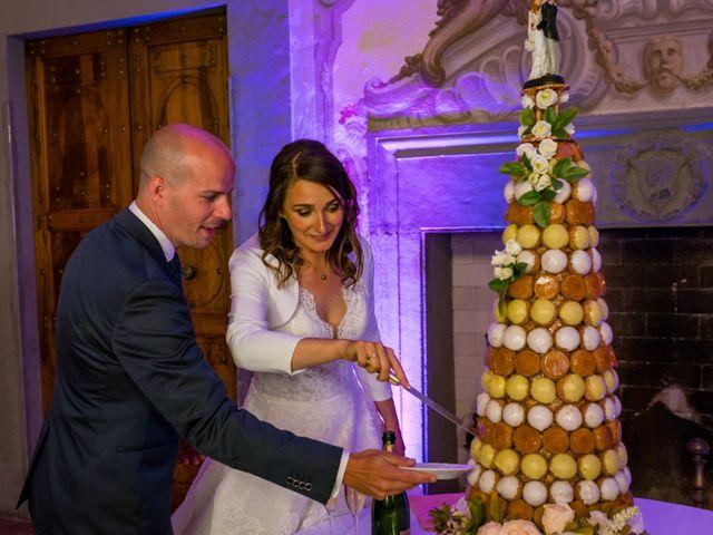 Il matrimonio di Christophe e Marie a Certaldo, Firenze 114