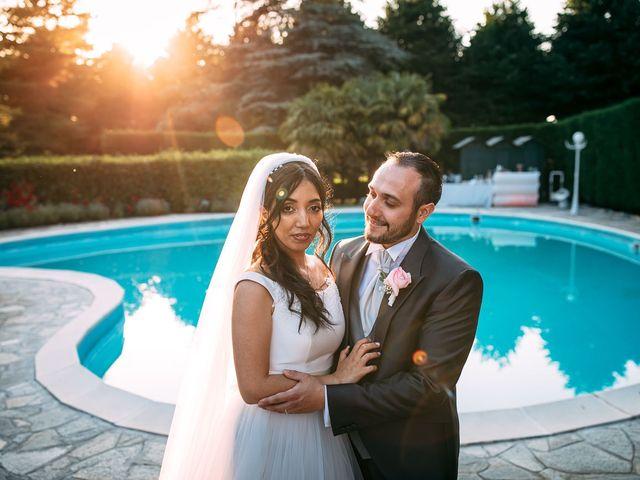 Le nozze di Yasmine e Davide