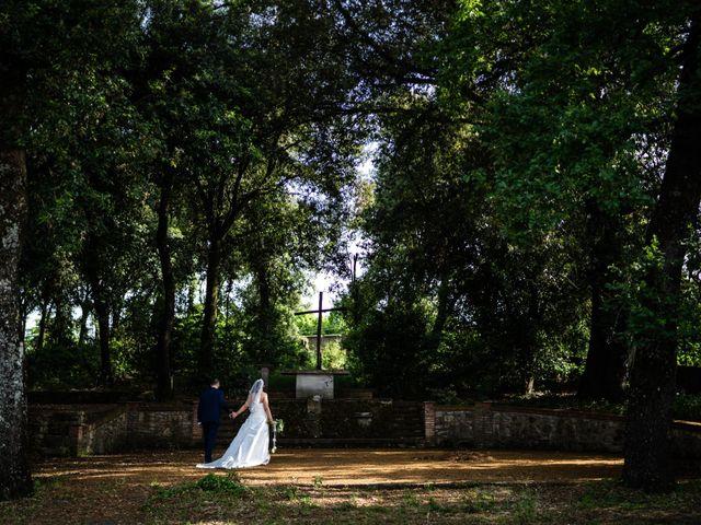 Il matrimonio di Pietro e Giulia a Roma, Roma 35