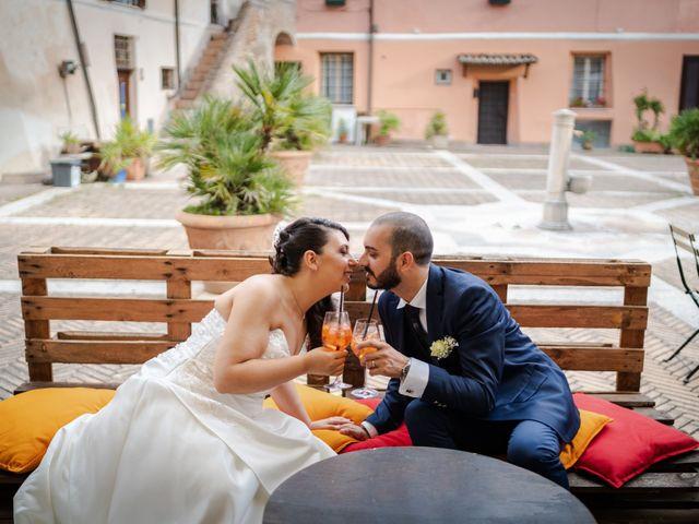 Il matrimonio di Pietro e Giulia a Roma, Roma 40