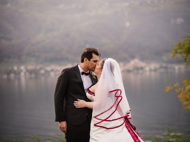 Il matrimonio di Carlos e Sineva a Mandello del Lario, Lecco 56
