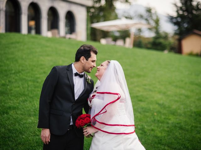 Il matrimonio di Carlos e Sineva a Mandello del Lario, Lecco 57