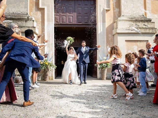 Il matrimonio di Matteo e Martina a Rivarolo Canavese, Torino 6