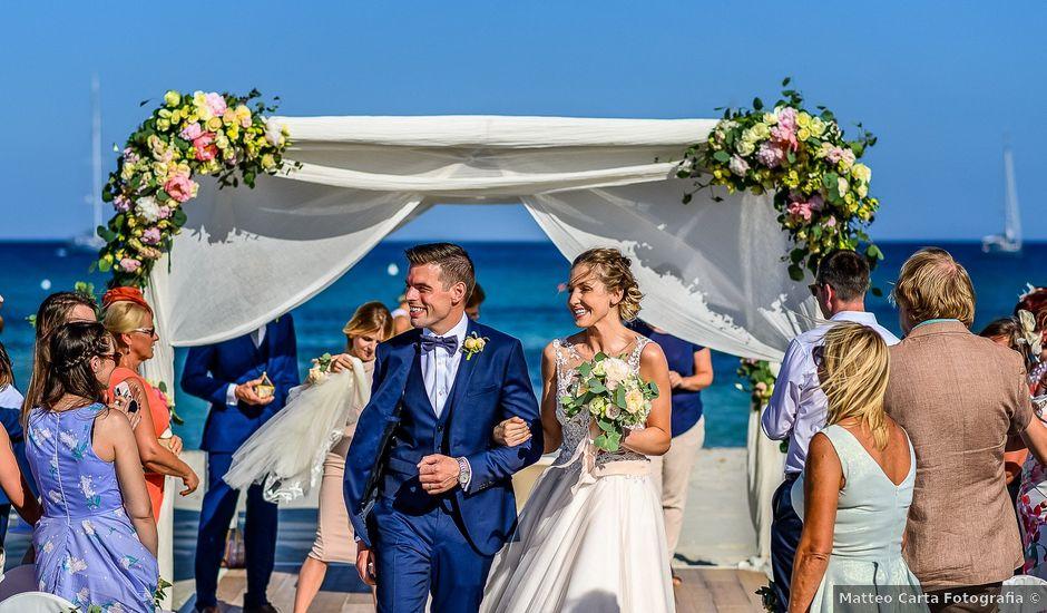 Il matrimonio di Matt e Paula a Villasimius, Cagliari