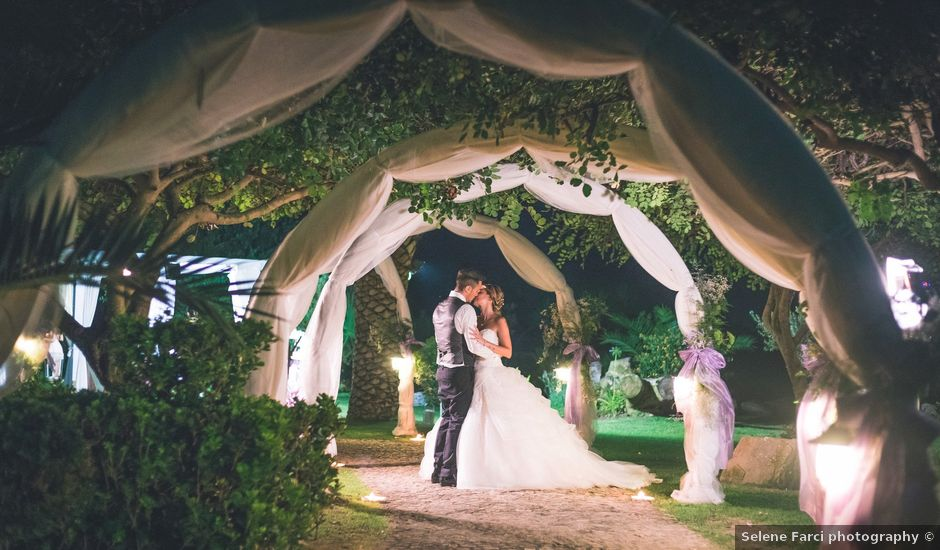 Il matrimonio di Cristian e Silvia a Monastir, Cagliari